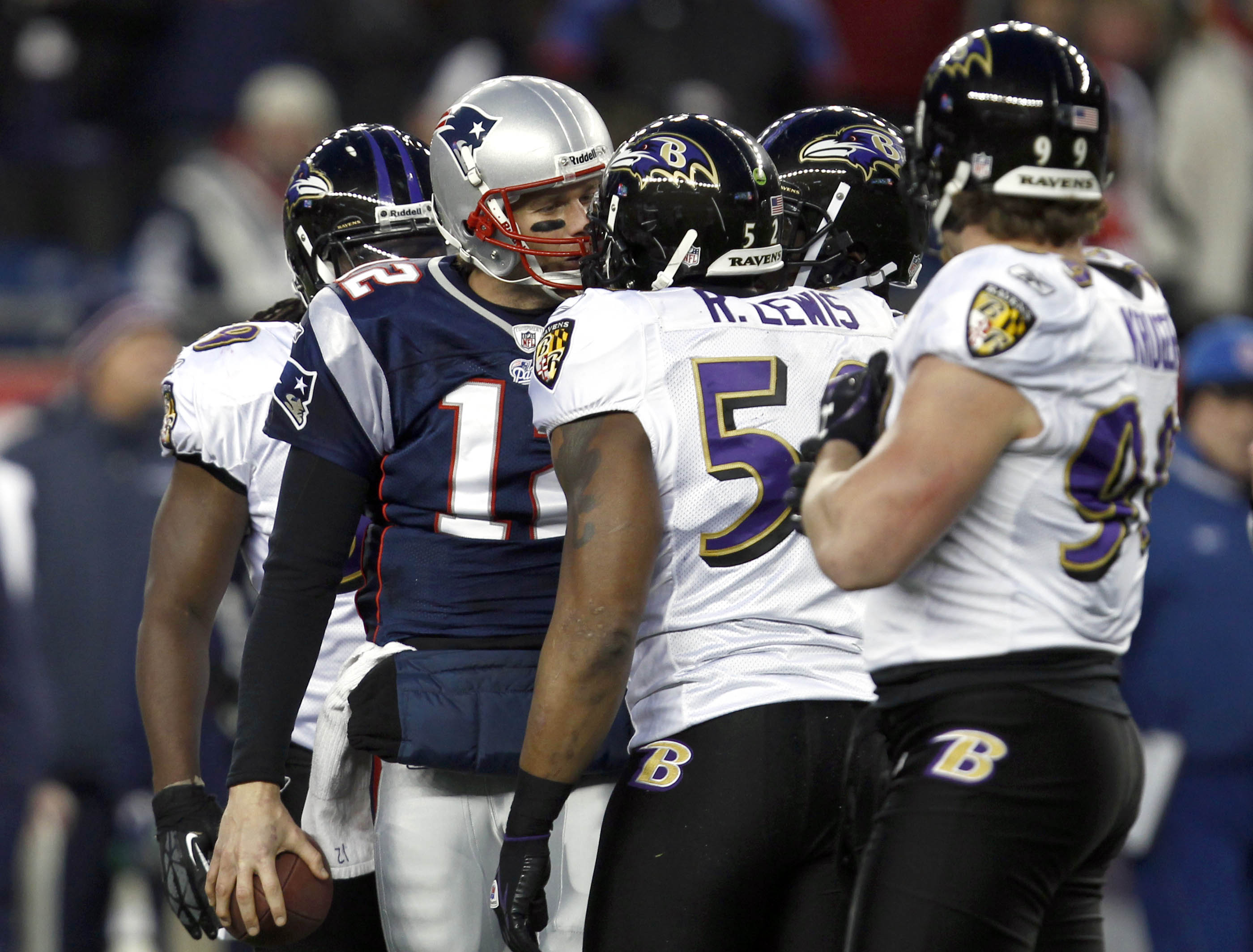 Ray Lewis thinks we only know who Tom Brady is because of the tuck rule
