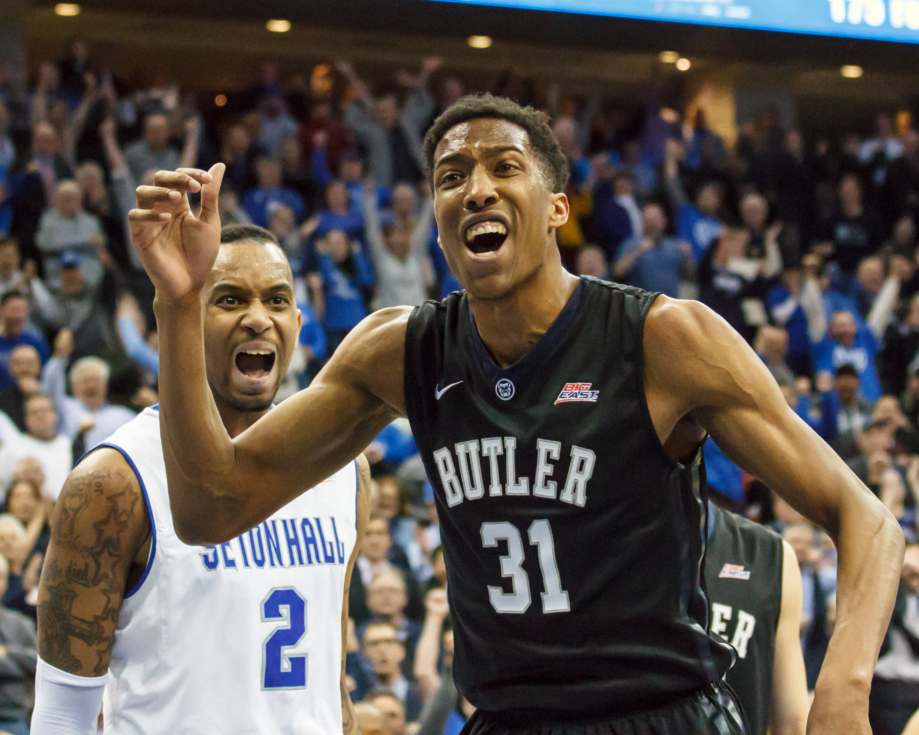 Brandon Mobley was held to six points on 1-15 shooting against Butler.