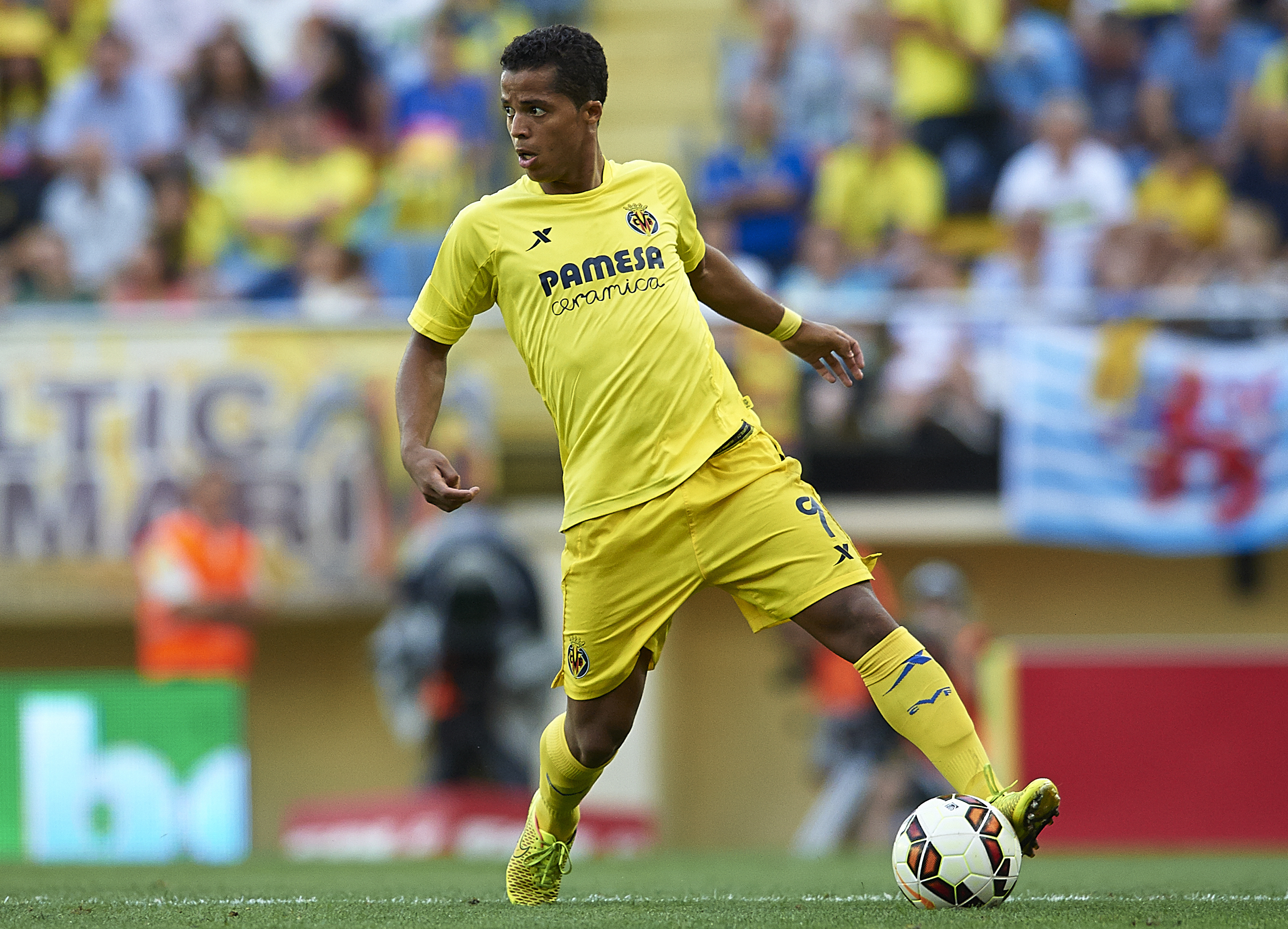 Gio starts for Villarreal today
