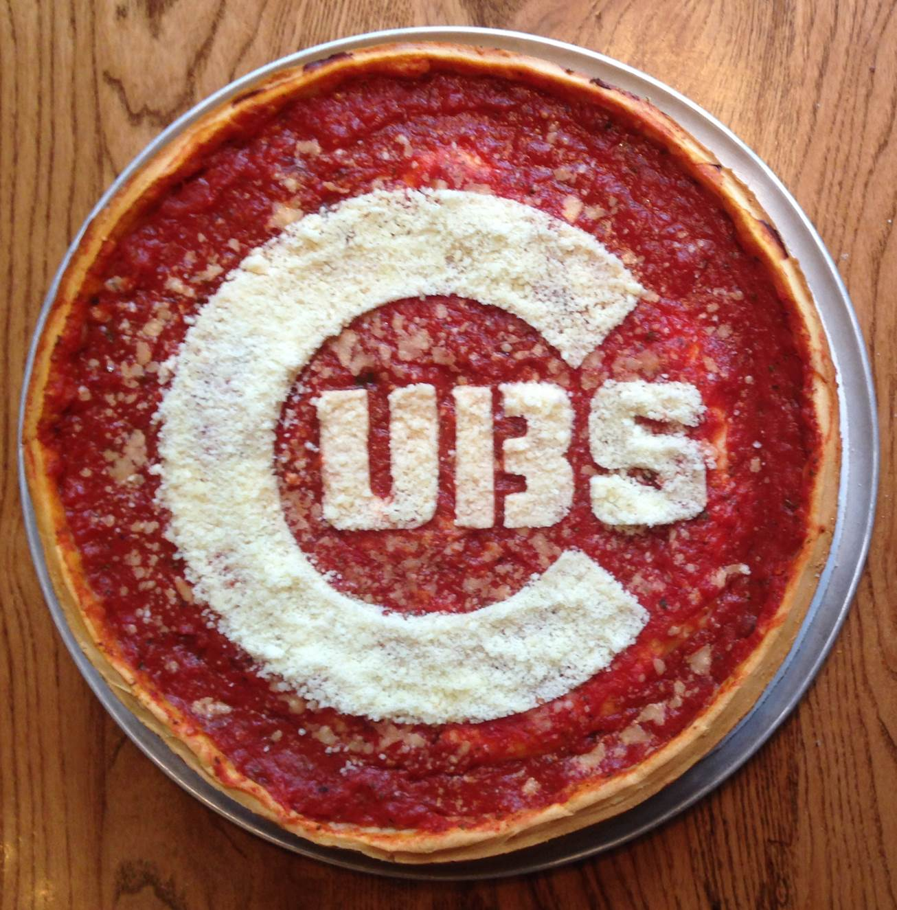 Giordano's Cubs Pizza