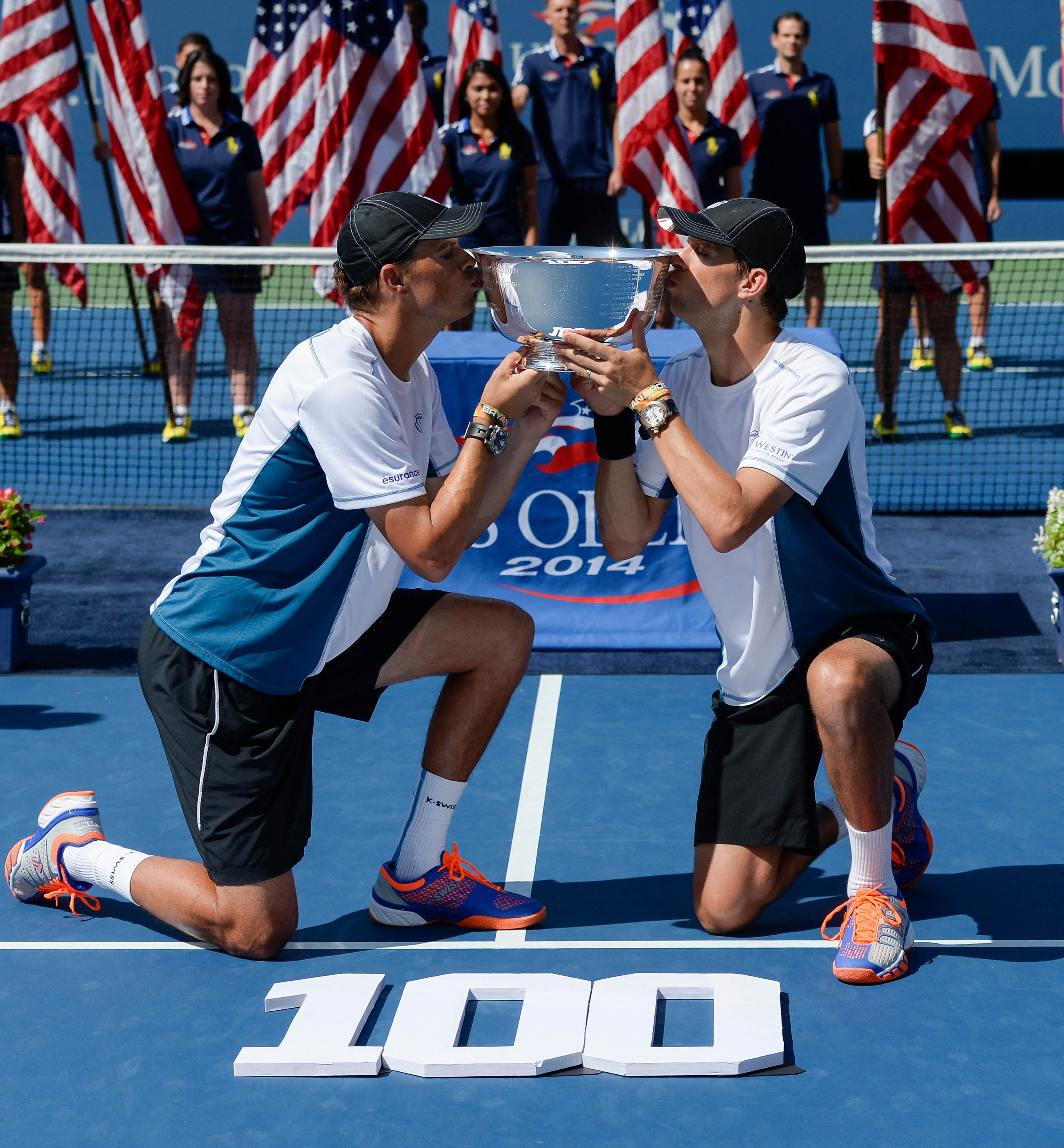 The Bryan brothers aren't a gay couple, but they've won plenty of USTA tournaments.