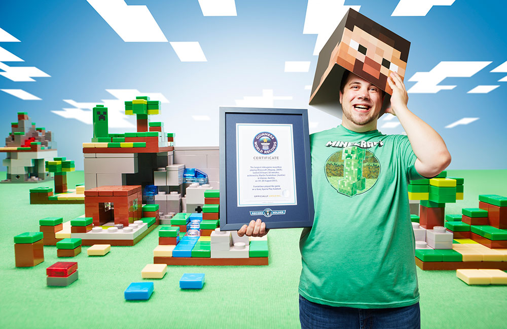 Minecraft's longest marathon lasted 24 hours and other Guinness World Records