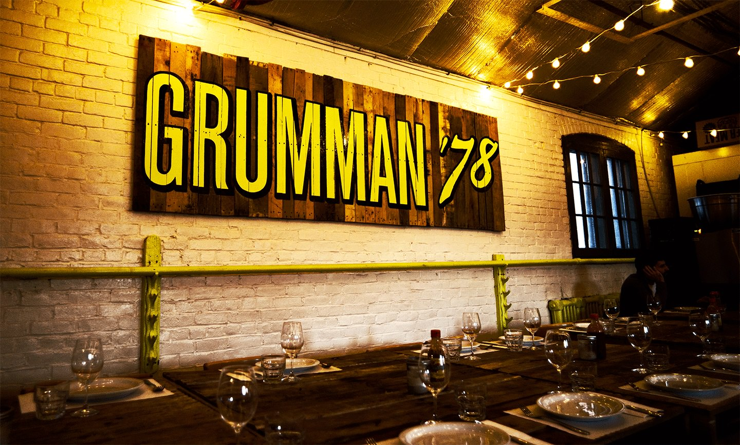Changes for Grumman in the sweets department
