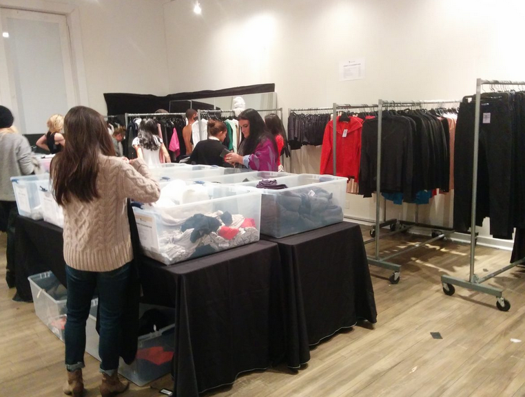 """The Alexander Wang <a href=""""http://ny.racked.com/archives/2014/12/09/alexander_wang_sample_sale_nyc.php"""">sample sale</a>"""