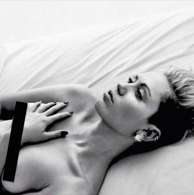 "Photo: <a href=""http://www.elle.com/news/culture/miley-cyrus-free-the-nipple-instagram"">Elle</a>"