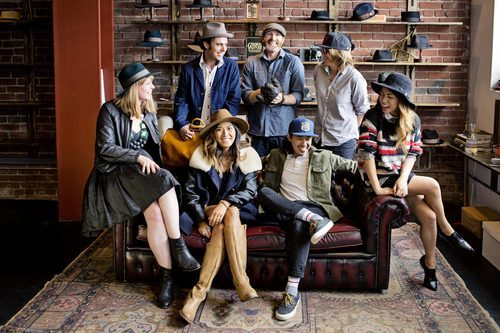 """This is it, for real: The last day of the Goorin Bros. Sample Sale. Photo: <a href=""""http://www.kimlucian.com/alps/"""">Kim Lucian</a> for Racked"""