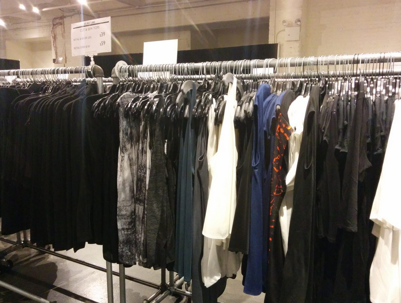 Guess who's returning with a second sample sale this month...