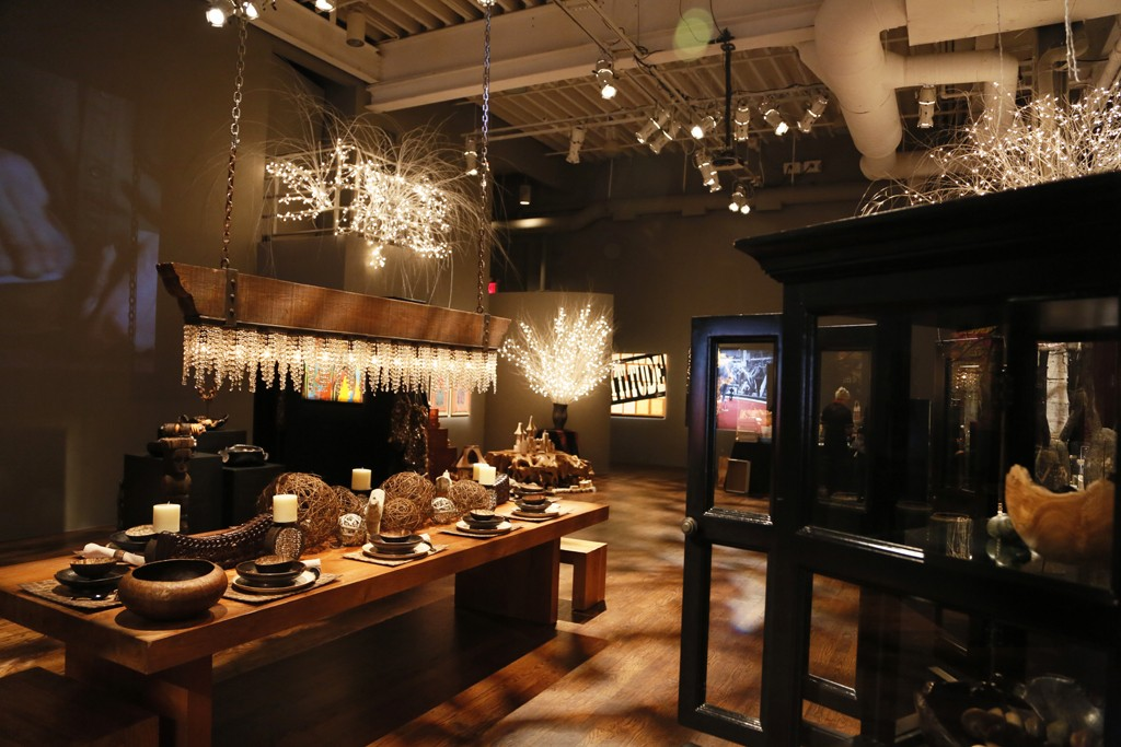 """The Urban Zen Holiday Marketplace. Photo: <a href=""""http://www.wwd.com/retail-news/specialty-stores/donna-karans-urban-zen-holiday-marketplace-8040230"""">WWD</a>"""