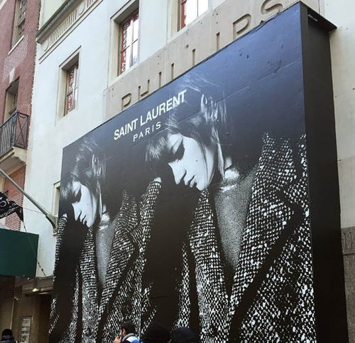 """Photo: <a href=""""http://theshophound.typepad.com/the_shophound/2014/11/temporary-lodgings-saint-laurent-to-jump-fifth-avenue-for-a-while.html"""">The Shophound</a>"""