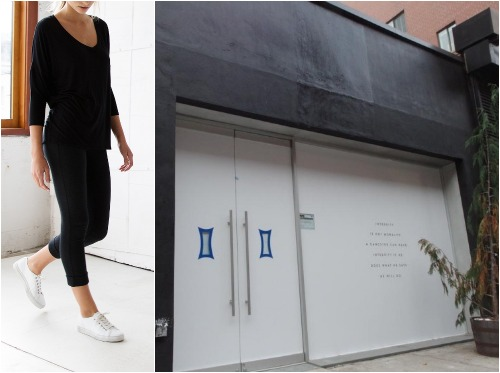 """Photos: <a href=""""http://kitandace.com/"""">Kit &amp; Ace</a>, <a href=""""http://www.boweryboogie.com/2014/11/lululemon-founders-wife-opening-kit-ace-boutique-elizabeth-street/"""">Bowery Boogie</a>"""