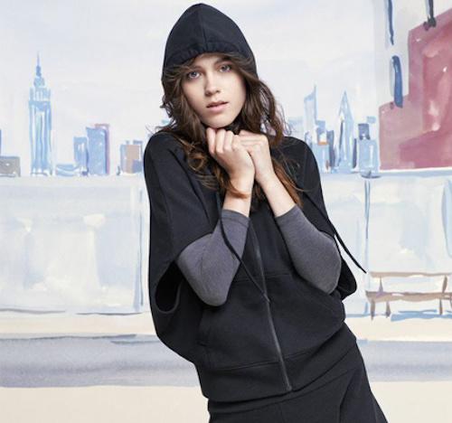 """Photo:  <a href=""""http://www.uniqlo.com/us/women/featured/urban-sweat.html"""">Uniqlo</a>"""