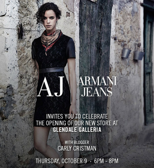 """Flyer: <a href=""""http://carlycristman.com/meet-up-with-armani/"""">Carly Cristman</a>"""