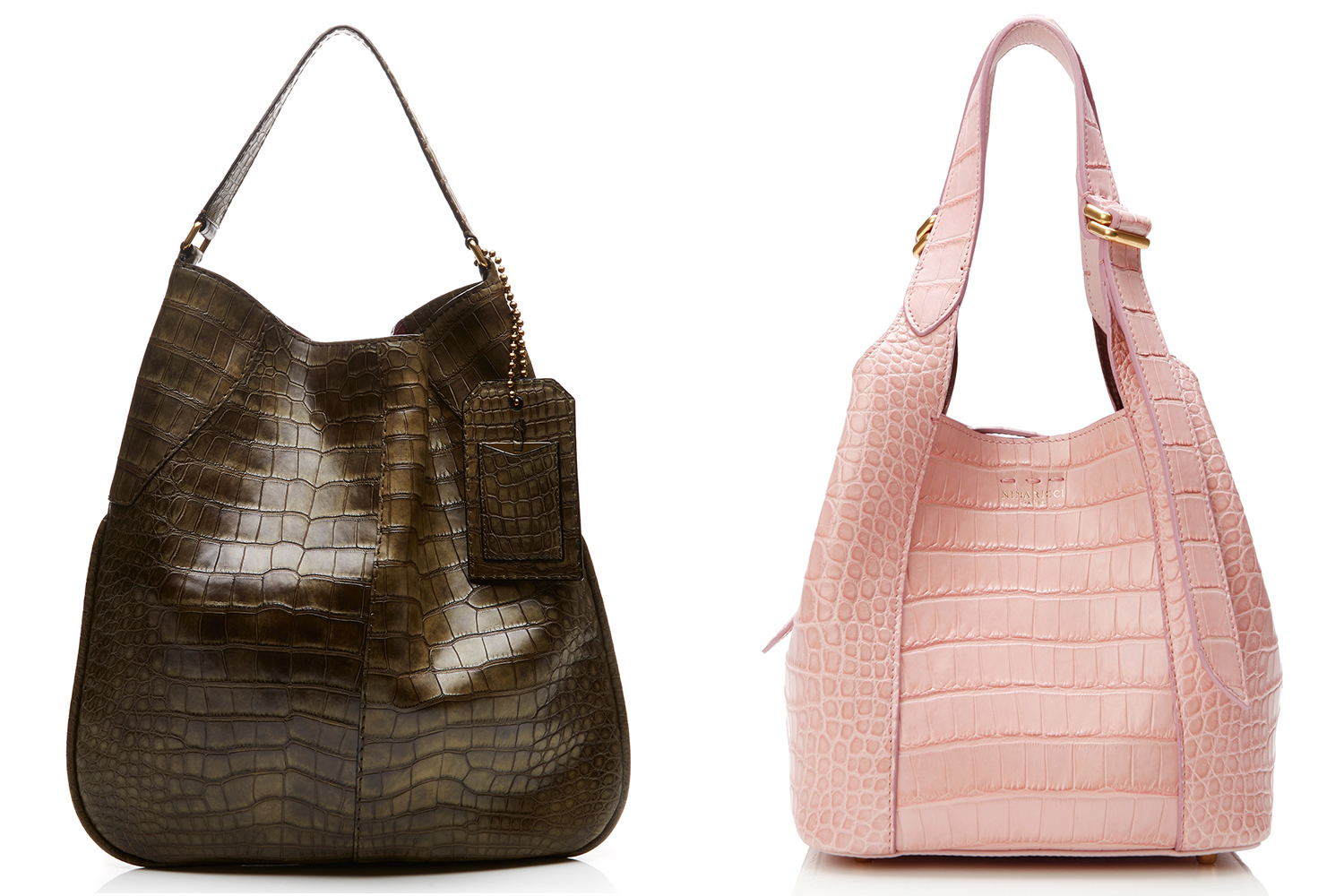 Marc Jacobs (left) and Nina Ricci are shilling alligator for spring.