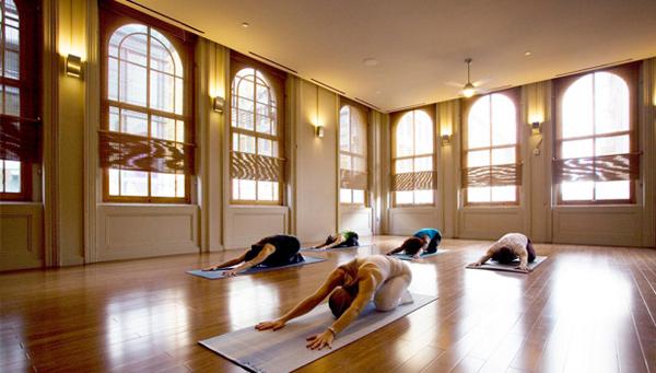 Image via YogaWorks