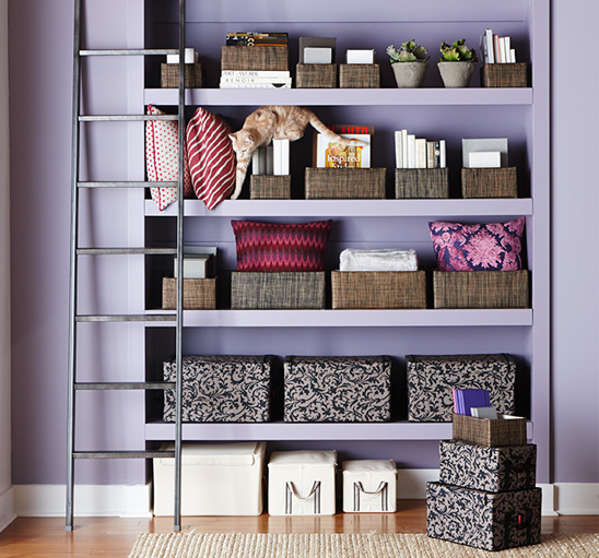 """Image via <a href=""""http://www.containerstore.com/athome/index.htm"""">Container Store</a>."""