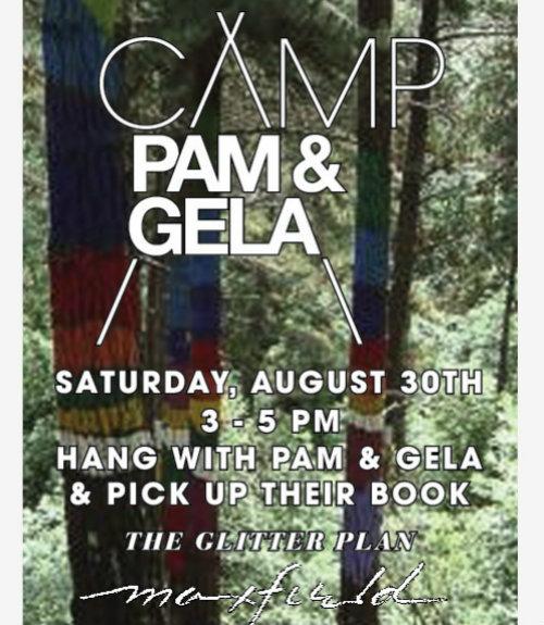 Flyer via Pam & Gela
