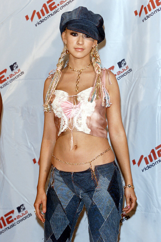 Xtina changing the game, via Getty