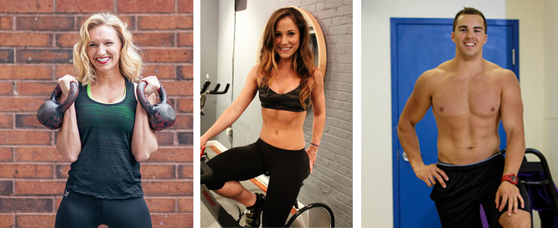 """Hottest Trainers of 2013 from Racked NY, Racked Philly, and Racked Boston. Images, from left: <a href=""""http://peladopelado.com"""">Driely S.,</a> <a href=""""https://lillie-estelle.squarespace.com"""">Lillie Estelle,</a> and <a href=""""http://www.andrewtakesph"""