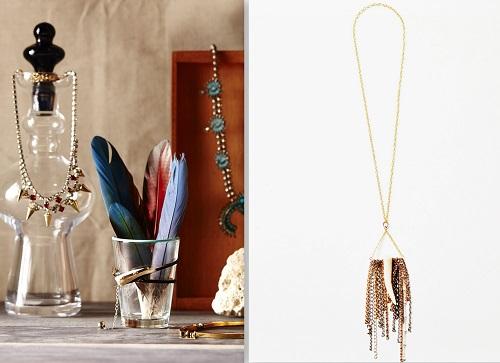 """R: the best-selling <a href=""""http://honeyrosenk.com/shop-3/necklaces-2/oh-deer-long-fringe-necklace/"""">Long Fringe Necklace</a> ($70). Images credit: <a href=""""http://honeyrosenk.com/"""">Honey Rose &amp; K</a>"""
