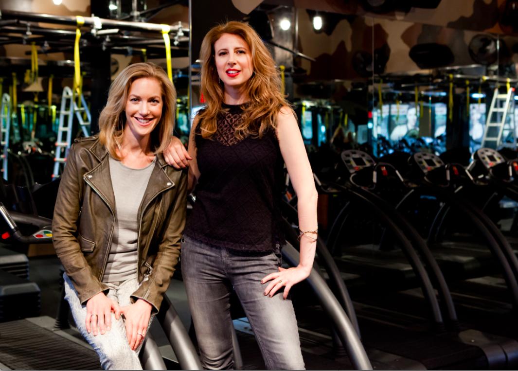 "Alexia Brue and Melisse Gelula, founders of <a href=""http://wellandgood.com/"">Well + Good</a>."