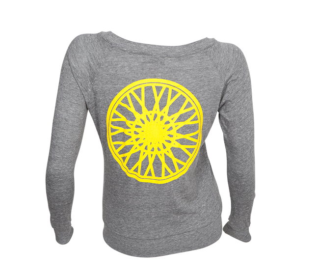 """SoulCycle slouchy wheel pullover, <a href=""""https://www.soul-cycle.com/shop/item/19330-25854"""">$58</a>"""