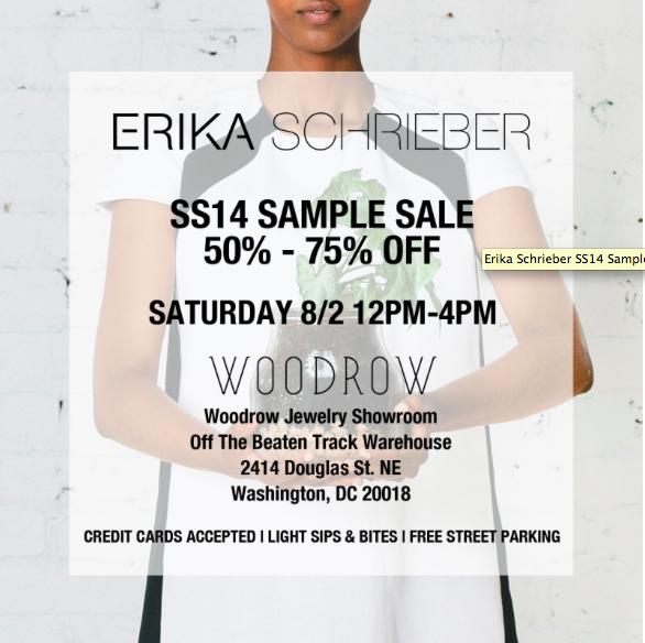 """Image <a href=""""http://www.eventbrite.com/e/erika-schrieber-ss14-sample-sale-tickets-12234938029"""">via</a>"""