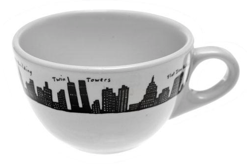 """One of several pieces from Fishs Eddy's <a href=""""http://www.fishseddy.com/browse.cfm/2,102.html"""">212 New York Skyline</a> collection"""