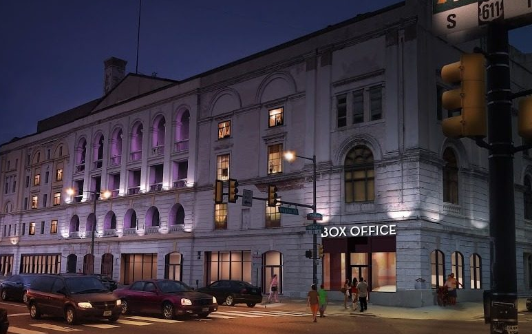 New rendering for The Met on North Broad Street
