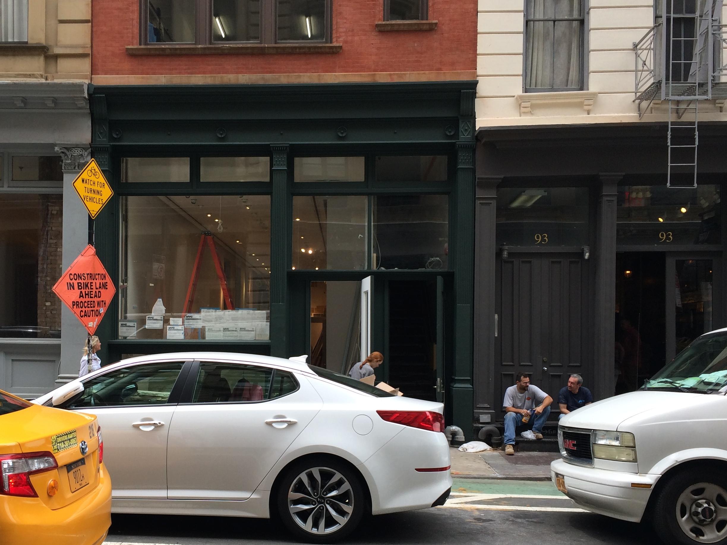 95 Greene Street, under construction