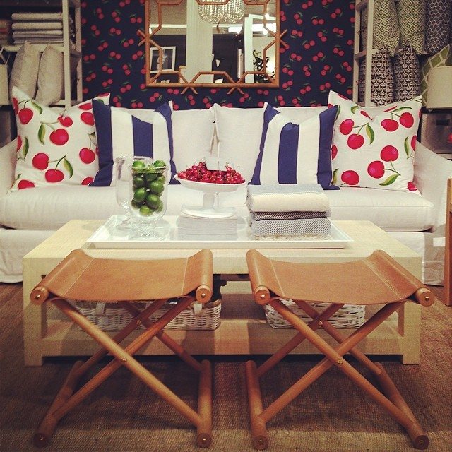 """Lily Kanter's design touch is applied to her own home and Serena and Lily's interiors, pictured above; photo via <a href=""""http://instagram.com/serenaandlily"""">Instagram</a>"""