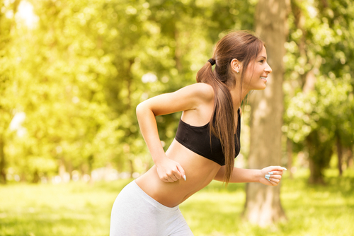 """Image credit: <a href=""""http://www.shutterstock.com/pic-197774492/stock-photo-happy-young-beautiful-woman-running-in-the-park.html?"""">Shutterstock</a>"""