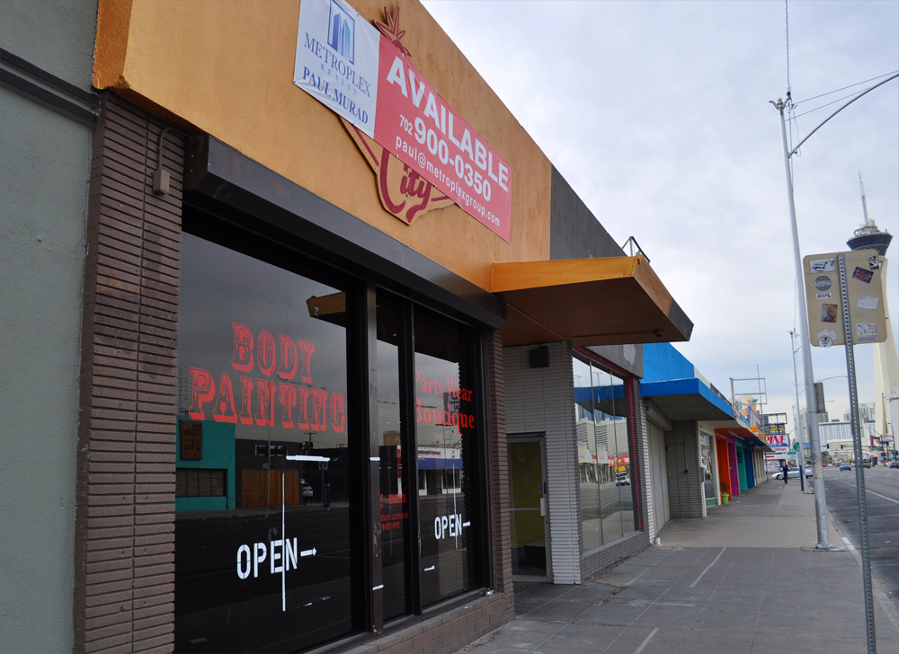 The future home of Buffalo Exchange