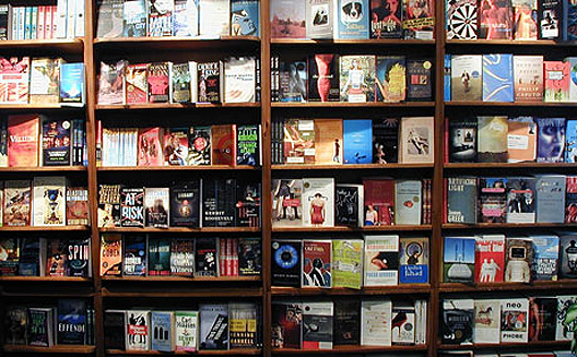 """Photo via <a href=""""http://thedirtyapple.com/blog/2011/06/could-the-east-village-lose-st-marks-bookshop/"""">The Dirty Apple</a>"""