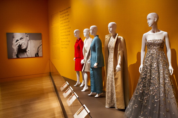 The exhibition last year at the Clinton library. Via Getty Images