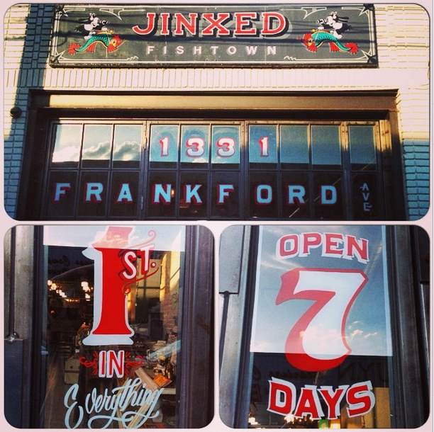 """Image credit: Jinxed's Fishtown location. <a href=""""http://instagram.com/p/puhnDfmRfr/?modal=true"""">Jinxed/Instagram</a>"""