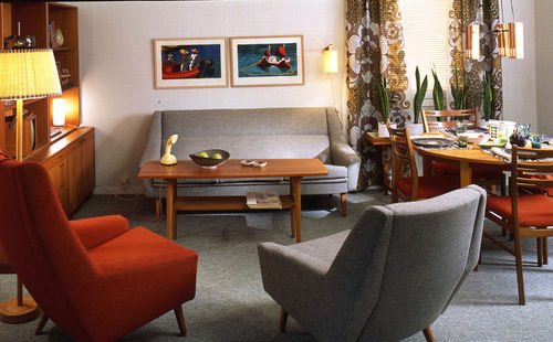 """Ikea's look in the sixties. Photo via <a href=""""http://curbed.com/archives/2014/06/25/vintage-ikea-1960s-1970s.php"""">Curbed</a>."""