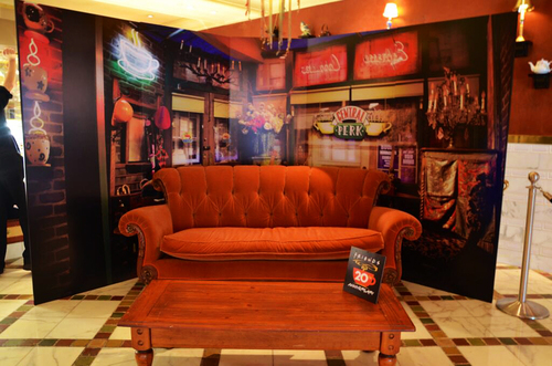 The Central Perk couch