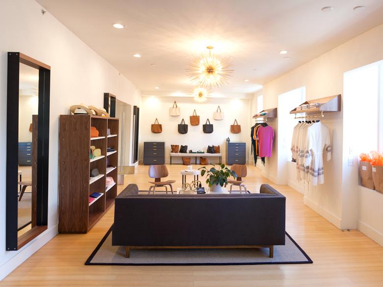 "Shop the sale at the Union Square showroom; photo via <a href=""http://cuyana.com/"">Cuyana</a>"