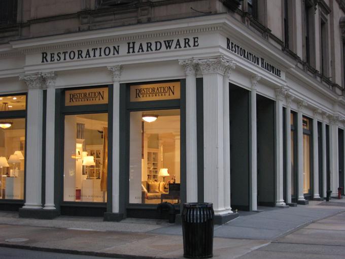 Restoration hardware racked ny