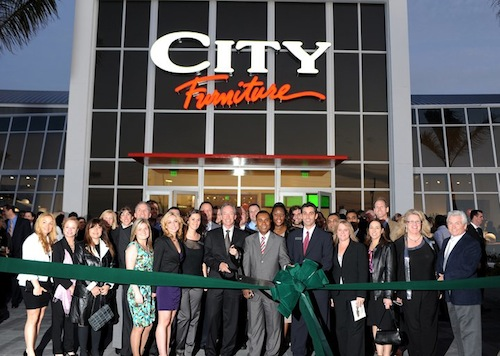 "The Grand Opening of City Furniture in Boca Raton via <a href=""https://www.facebook.com/CityFurniture/timeline"">Facebook</a>"