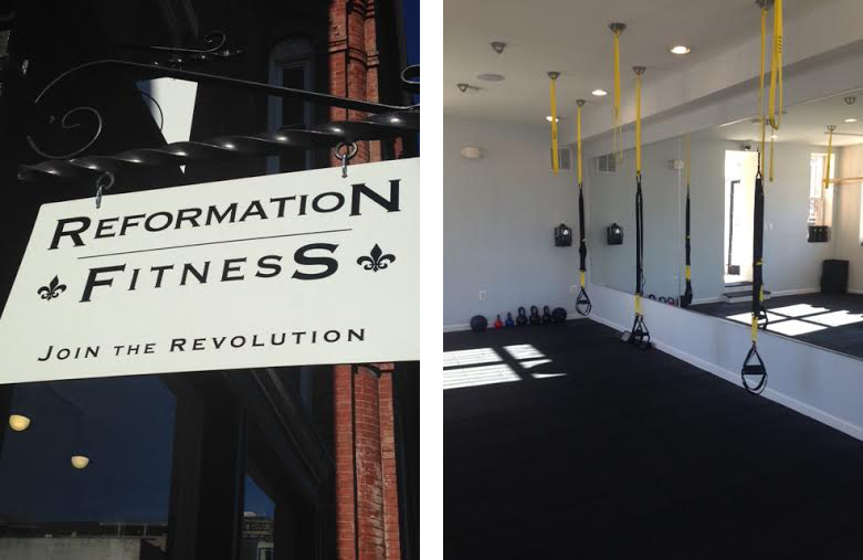 Image courtesy of Reformation Fitness