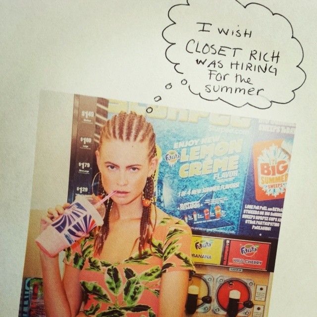 "Image <a href=""http://blog.closetrich.com/post/87636436822/wishes-come-true-now-accepting-applications"">via</a>"