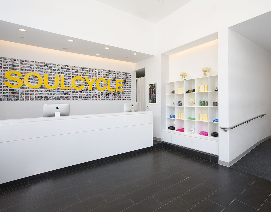 Lobby image courtesy of SoulCycle