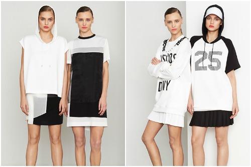 "Looks from <a href=""http://www.dkny.com/press/on-the-runway/summer-2014-dkny/lookbook#p=3"">DKNY Resort 2014</a>"