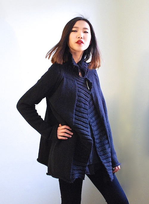 A look from the Pico Vela fall 2013 collection; Image courtesy Pico Vela