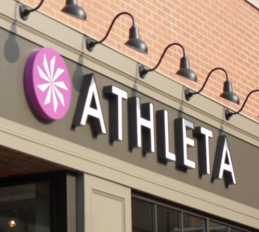 Gap-owned Athleta is likely headed for University Park Village. Image via Athleta/Facebook