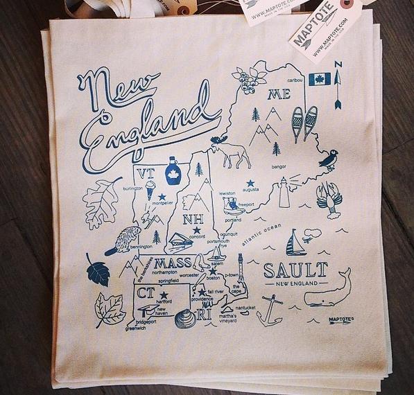 """Sault x Maptote New England bag, <a href=""""http://www.saultne.com/"""">$17</a>"""