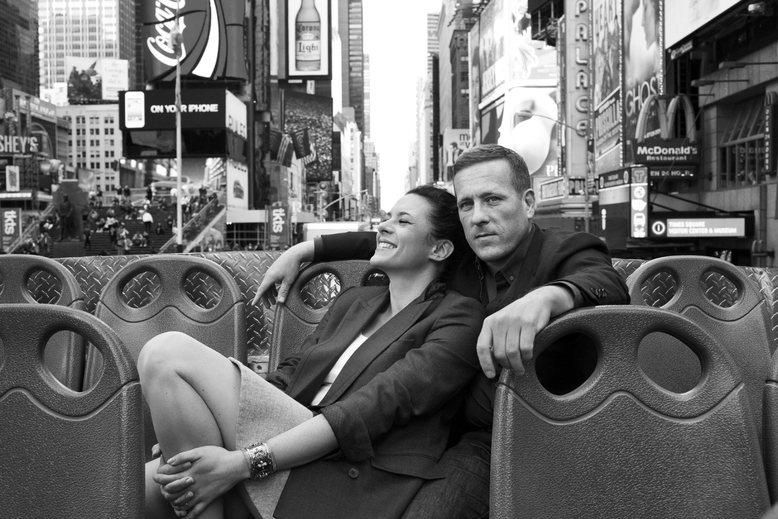 Garance Doré and Scott Schuman. Photo via Garance Doré.