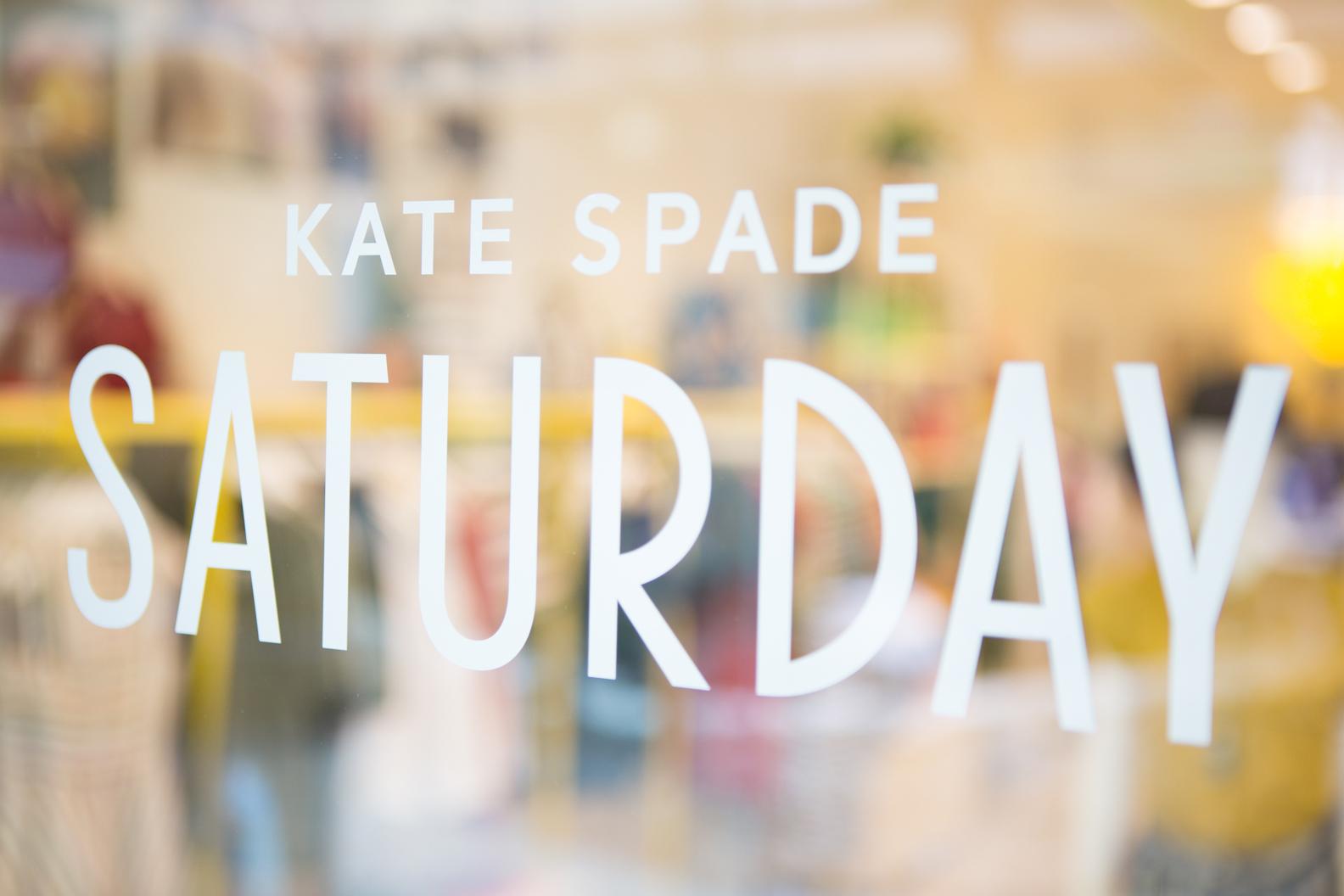 Photos courtesy of Kate Spade Saturday
