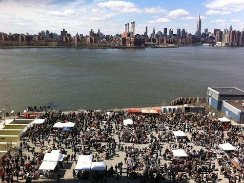 "A view of the market's previous location; Image via <a href=""http://www.brooklynflea.com/markets/williamsburg/"">Brooklyn Flea</a>"